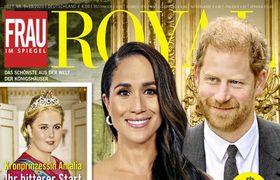 Frau im Spiegel Royal Abo