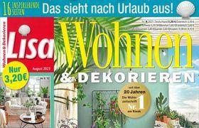 Lisa Wohnen & Dekorieren Abo
