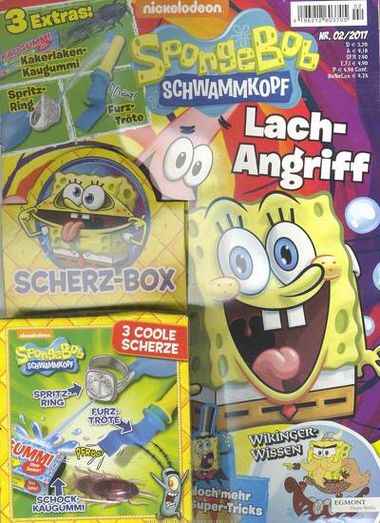 spongebob schwammkopf abo f r 0 mit pr mie abonnieren abotraum. Black Bedroom Furniture Sets. Home Design Ideas